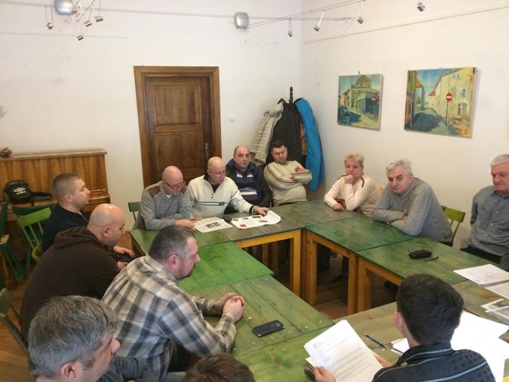 Spotkanie członków Klubu HDK PCK Strażak przy OSP w Łęczycy - Zdjęcie główne