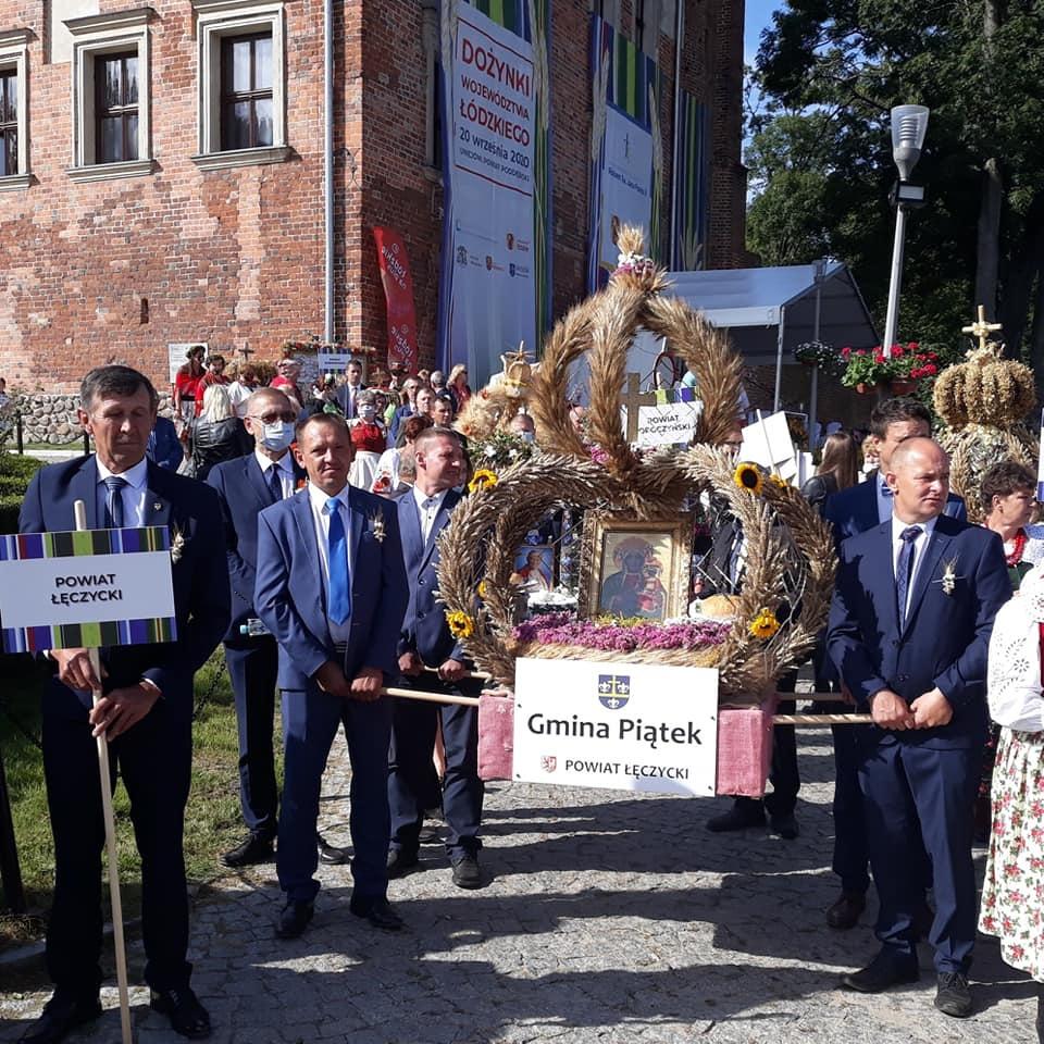 Dożynki Wojewódzkie w Uniejowie - nie zabrakło naszych przedstawicieli - Zdjęcie główne