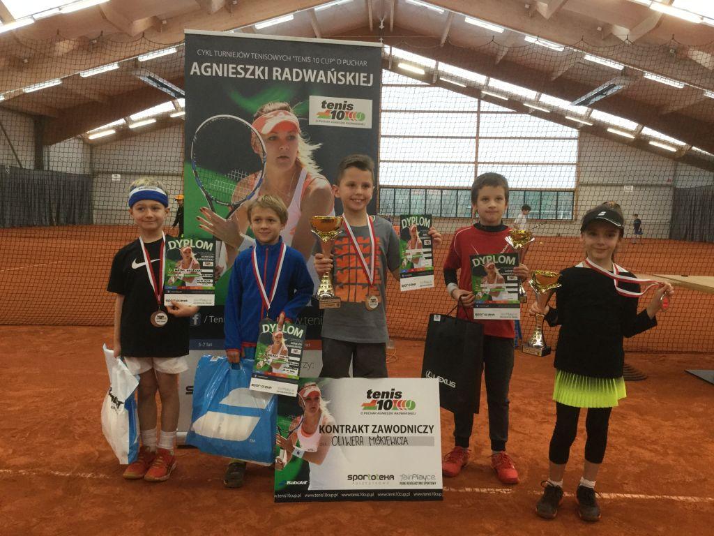 Oliwer Miśkiewicz rozgromił konkurencję! Młody tenisista pierwszy w cyklu Tenis 10! - Zdjęcie główne