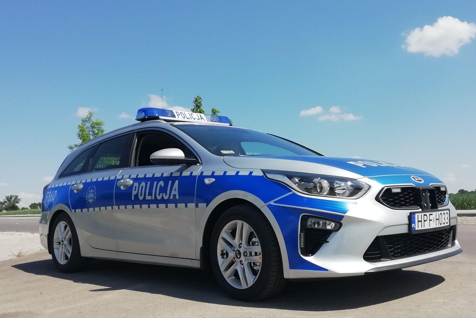 Kierowcy uważajcie! Policja ma nowy radiowóz - Zdjęcie główne