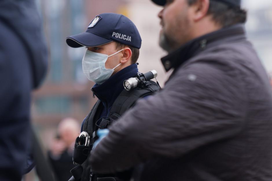 Wspólne kontrole policji i sanepidu - Zdjęcie główne