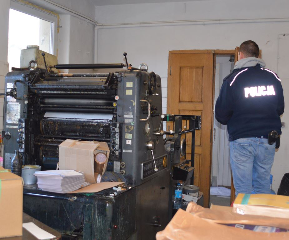 Wykryli drukarnię produkującą opakowania do nielegalnych papierosów - Zdjęcie główne