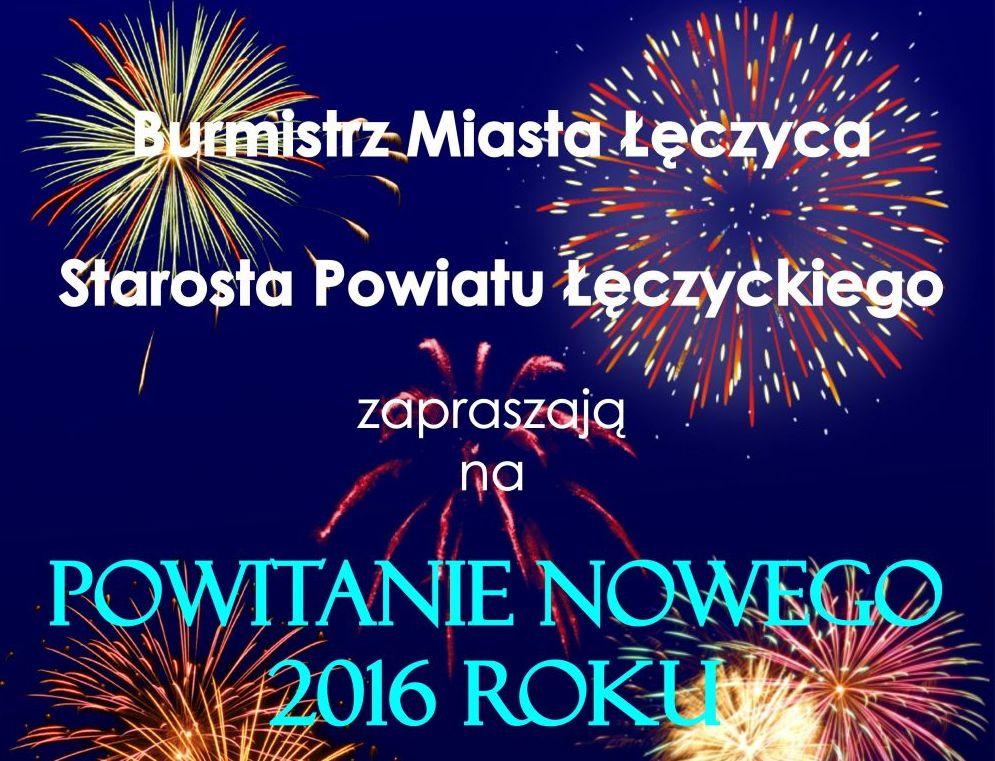 Powitanie Nowego Roku 2016 - Zdjęcie główne