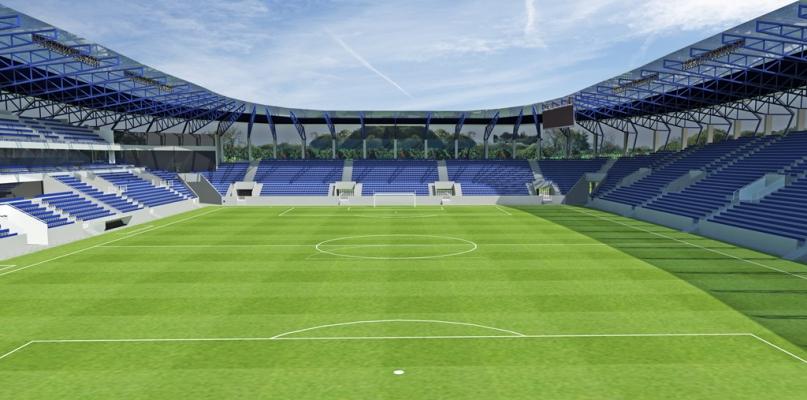 Tak ma wyglądać nowy stadion przy Łukasiewicza. Koncepcja gotowa - Zdjęcie główne