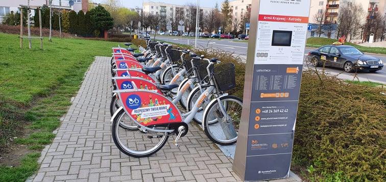 Orlenowskie stacje roweru miejskiego w końcu będą czynne  - Zdjęcie główne