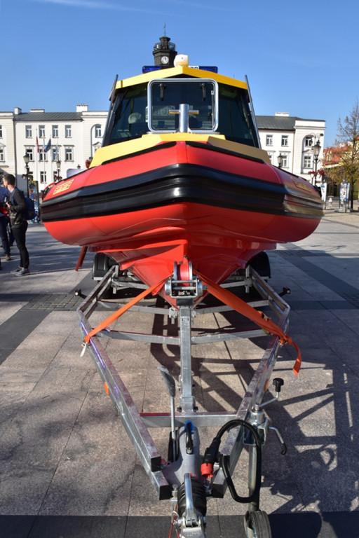 Nowa łódź dla ratowników z WOPR - Zdjęcie główne