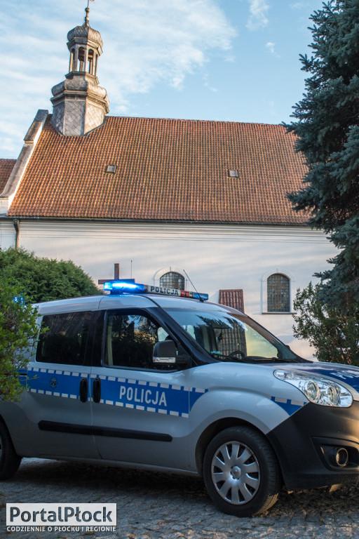 Policja w kościele na Górkach - Zdjęcie główne