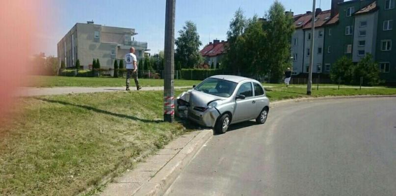 Wypadki i kolizje w Płocku. Jedna osoba ranna [ZDJĘCIA] - Zdjęcie główne
