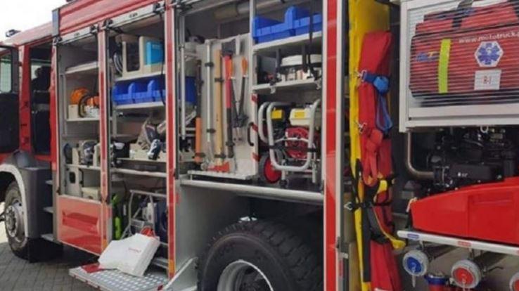 Straż pożarna na Podolszycach. Trwa ewakuacja mieszkańców - Zdjęcie główne