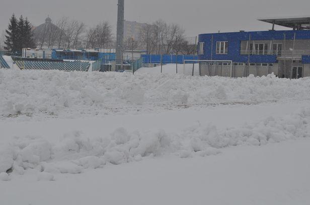 Wisła przegrała z zimą i przekłada mecz - Zdjęcie główne