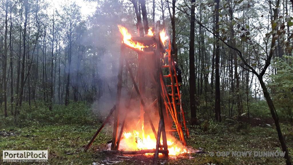 Pożar ambony - Zdjęcie główne