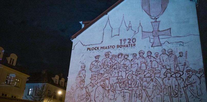 Powstaje wyjątkowy mural. Ku czci obrońców Płocka z 1920 roku - Zdjęcie główne