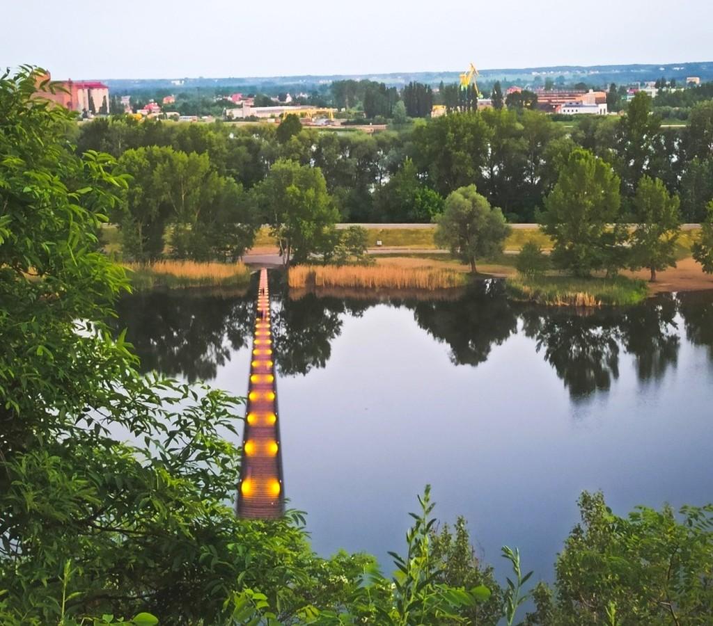 Sensacyjny pomysł. Czy powstanie mostek, łączący brzegi na płockiej Sobótce? - Zdjęcie główne