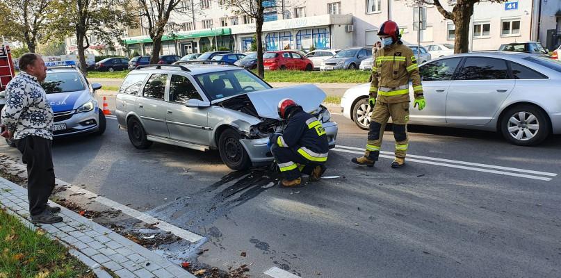 Wypadek w centrum Płocka. Są utrudnienia w ruchu [FOTO] - Zdjęcie główne