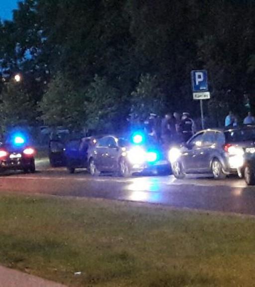 Akcja policji pod Orlen Areną - Zdjęcie główne