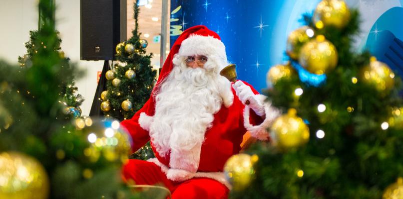 Święty Mikołaj odwiedził Atrium Mosty [FOTO] - Zdjęcie główne