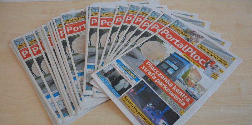 Jest trzeci numer Wiadomości Portal Płock. Jedyna taka gazeta na rynku! - Zdjęcie główne
