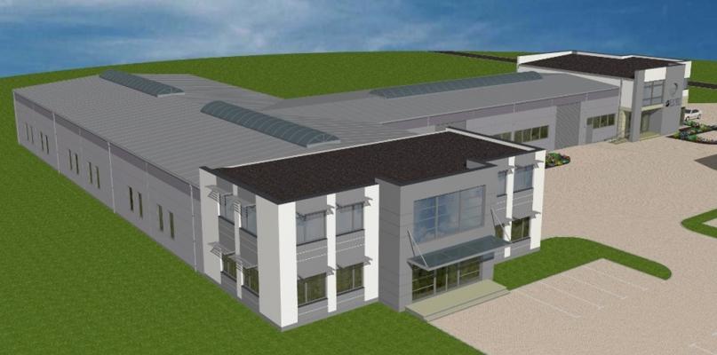 Budują nowe zakłady i trzykondygnacyjny biurowiec - Zdjęcie główne