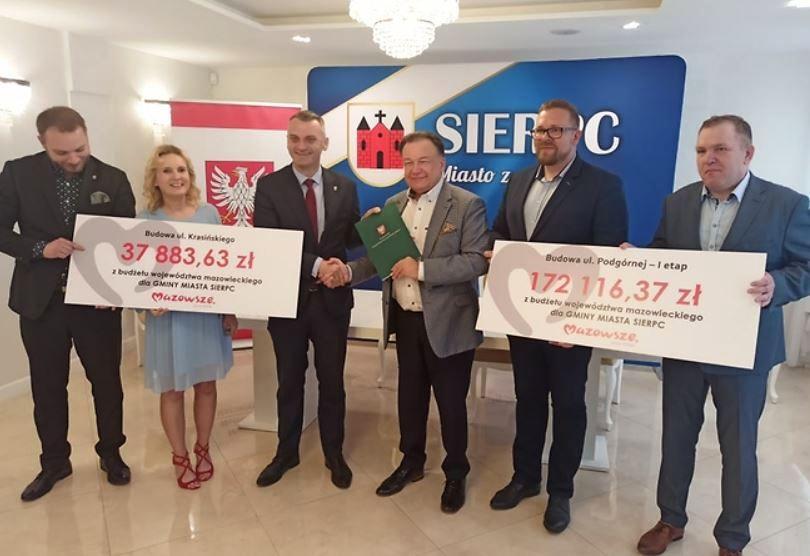Są pieniądze na inwestycje w Sierpcu – m.in. na budowę dróg - Zdjęcie główne