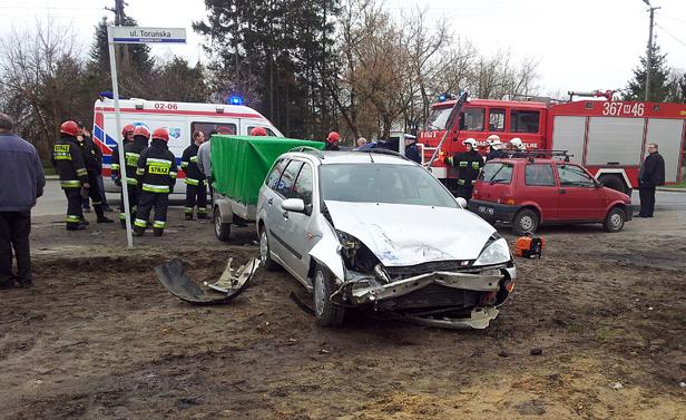 Opel uderzył w forda, a potem w fiata [FOTO] - Zdjęcie główne