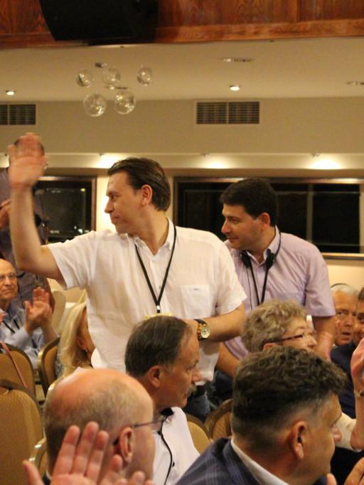 Powitanie delegacji z miast partnerskich - Zdjęcie główne