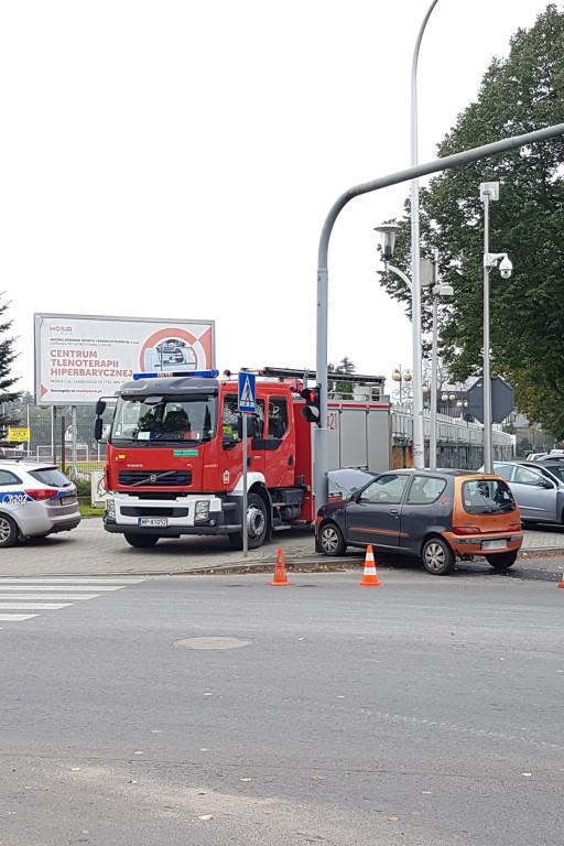 Wypadek przy stadionie miejskim - Zdjęcie główne