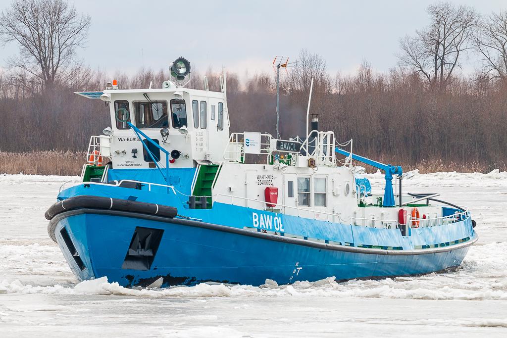 Wody Polskie: najtrudniejszy fragment zatoru rozbity. Lodołamacze widać już w Płocku  - Zdjęcie główne
