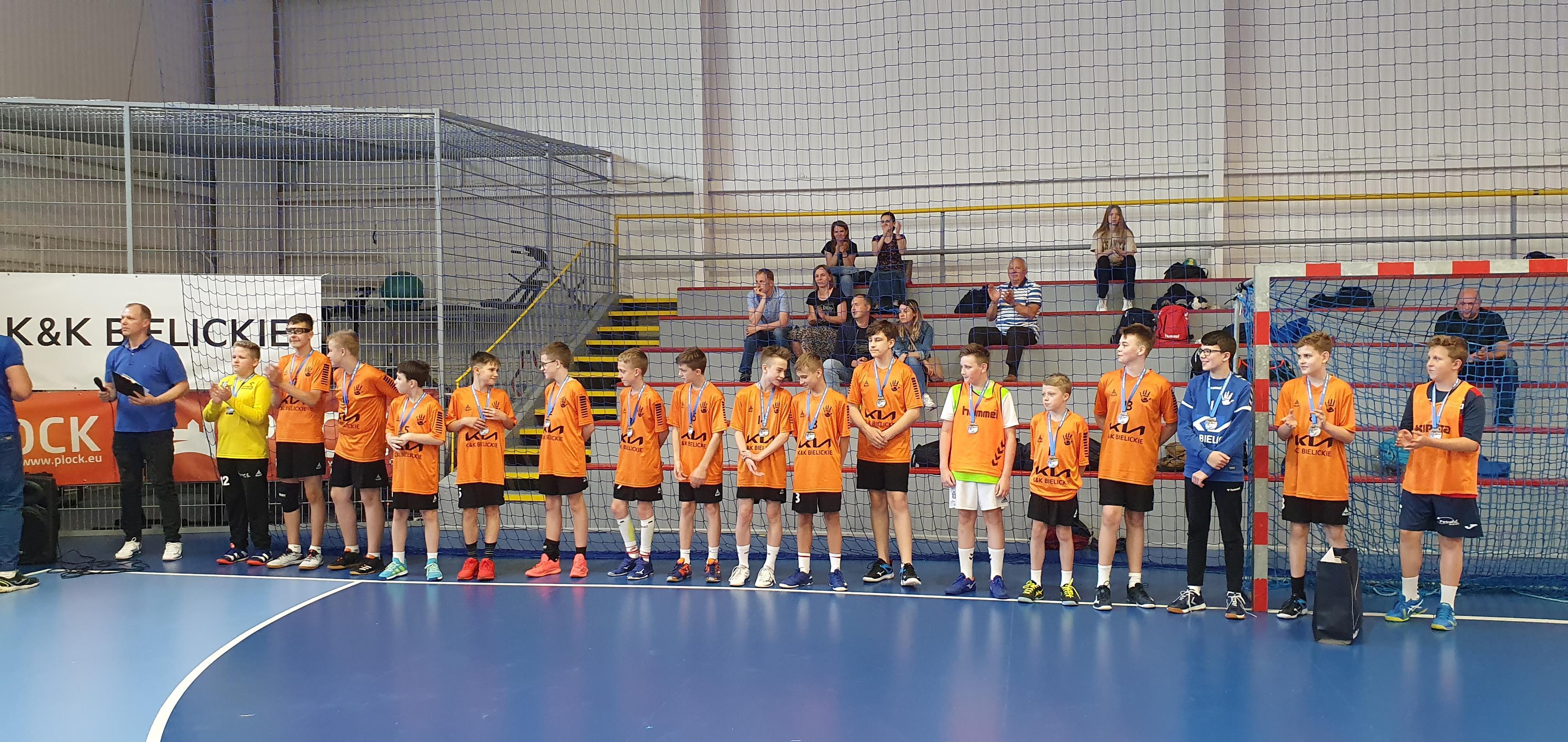 Turniej młodych piłkarzy ręcznych. Wygrał MUKS 21 Płock! - Zdjęcie główne