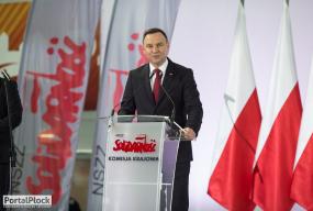 Prezydent Andrzej Duda chce zmiany konstytucji. Minister przyjeżdża do Płocka - Zdjęcie główne