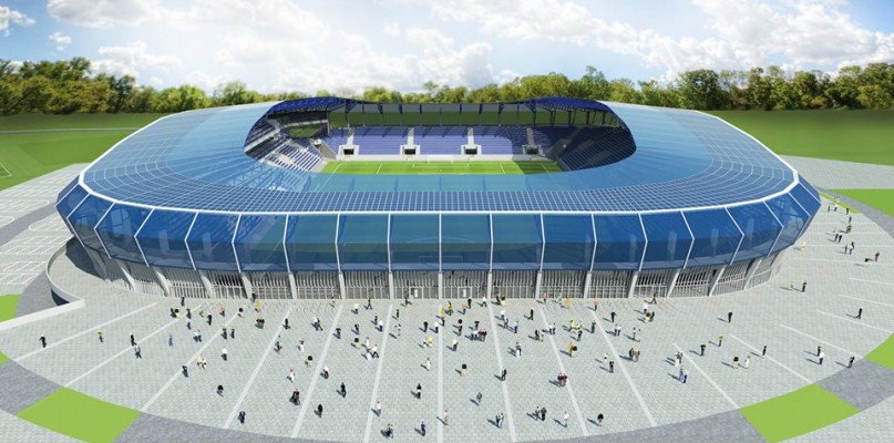 Cztery podmioty zainteresowane budową stadionu dla Wisły Płock - Zdjęcie główne
