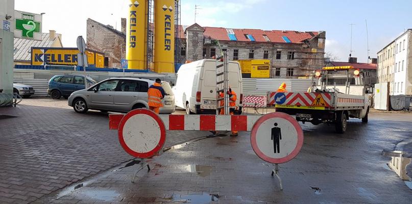 Przechodniak między ul. Królewiecką a Sienkiewicza zamknięty - Zdjęcie główne