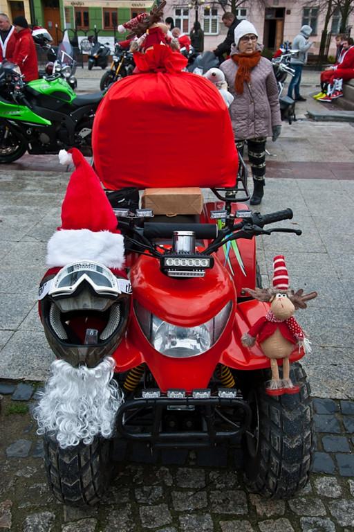 Moto Mikołaje wyruszyli z prezentami - Zdjęcie główne