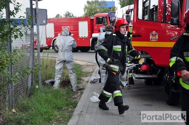 Pożar na wysyspisku śmieci w Kobiernikach - Zdjęcie główne