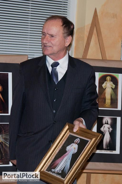 Fotografie obrazu Jezusa Miłosiernego - Zdjęcie główne