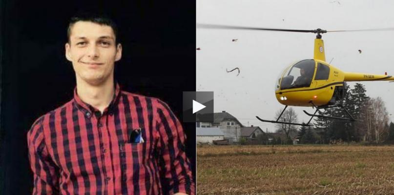 Szukają młodego Ukraińca. Zaangażowany nawet helikopter - Zdjęcie główne