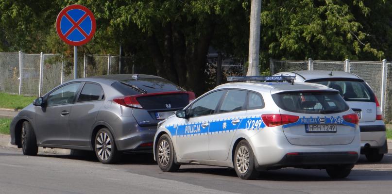 Kolizja na rondzie na Podolszycach  - Zdjęcie główne