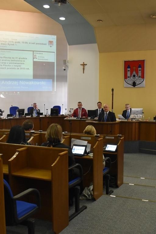 Sesja Rady Miasta Płocka - Zdjęcie główne