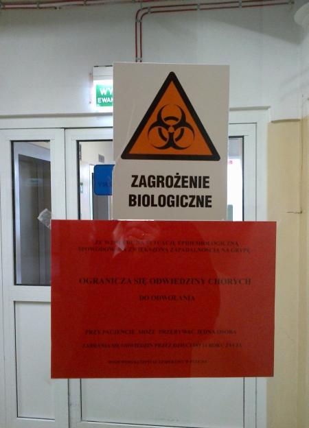 Szpital ogranicza odwiedziny. Przez grypę - Zdjęcie główne