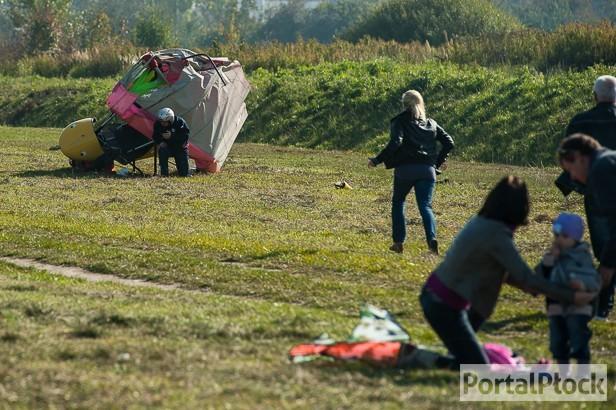Groźny wypadek motolotni na lotnisku - Zdjęcie główne