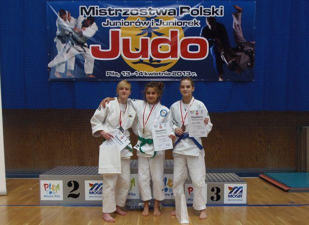 Młoda płocka judoczka na czele rankingu - Zdjęcie główne