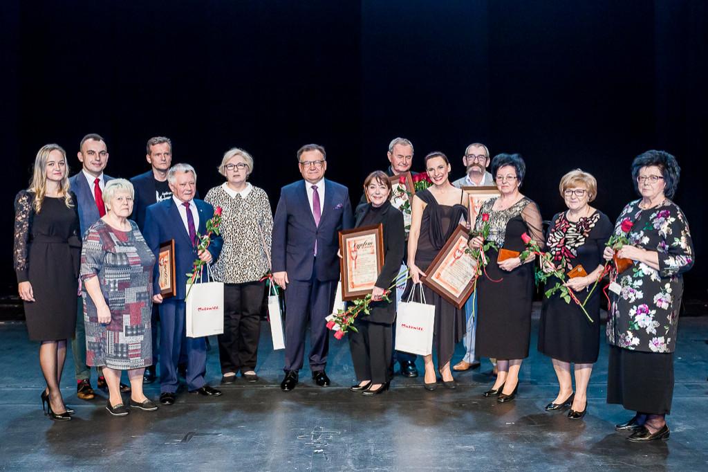 Płocki teatr świętował 45 urodziny - Zdjęcie główne