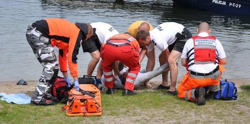 Tragedia w Nowych Rumunkach. Utopił się 34-latek - Zdjęcie główne