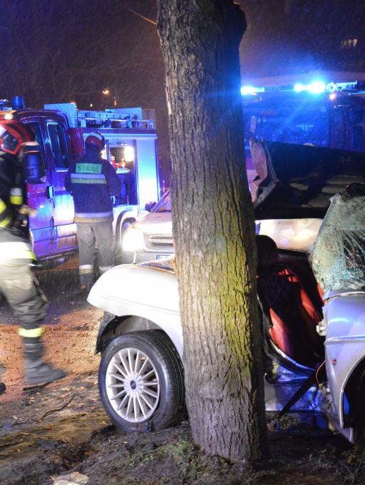 Akcja straży pożarnej w Płocku - Zdjęcie główne