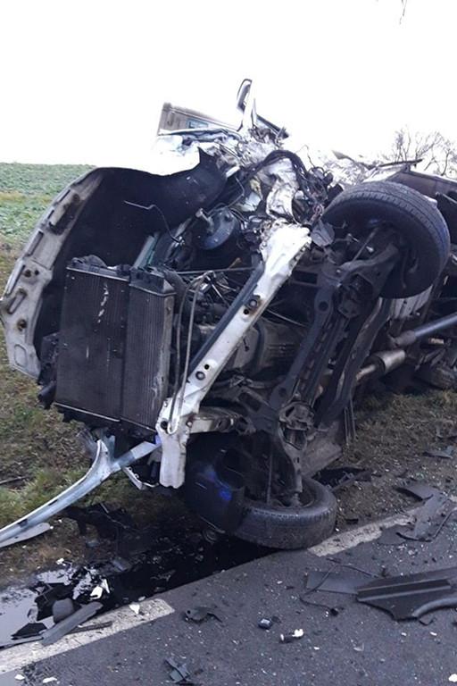 Wypadek w miejscowości Kamionki - Zdjęcie główne