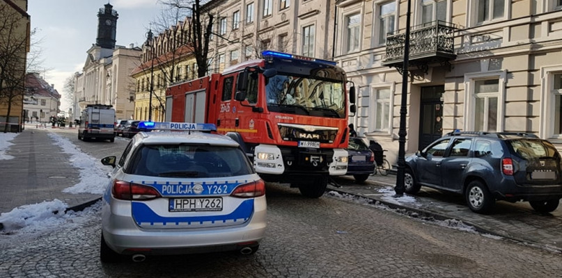Bomba w płockiej siedzibie Prawa i Sprawiedliwości? Służby na miejscu [FOTO] - Zdjęcie główne