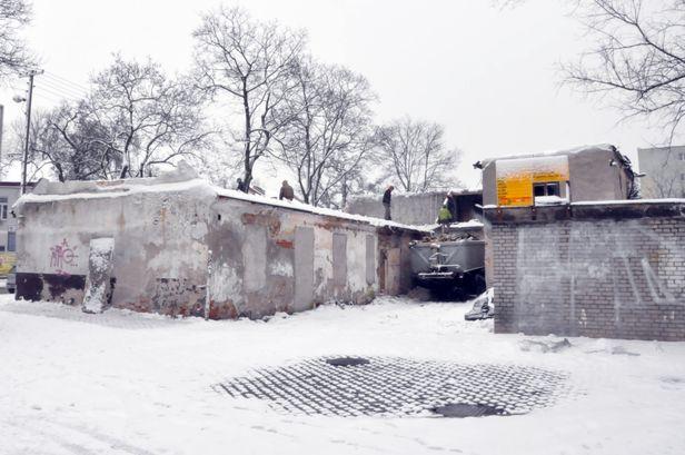Znika budynek w centrum. Będzie tu hotel - Zdjęcie główne