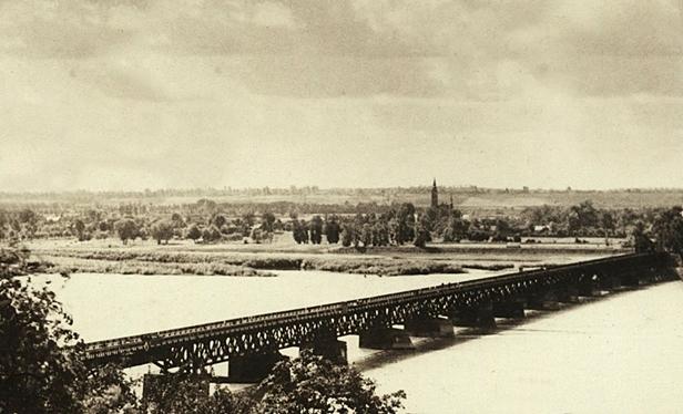 Pierwszy stały most. Tak było 100 lat temu - Zdjęcie główne