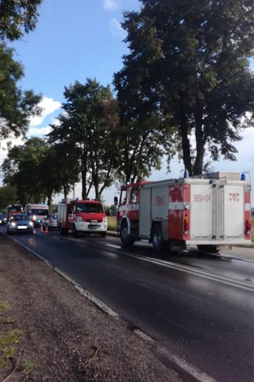 Jedna osoba ranna w kolizji trzech aut - Zdjęcie główne