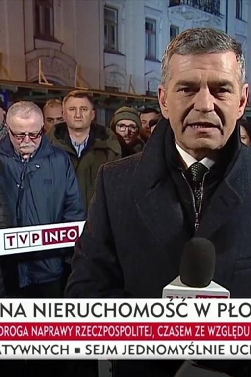 Ekipa TVP Info w Płocku - Zdjęcie główne