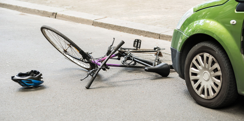 Potrącenie 16-letniego rowerzysty w podpłockiej miejscowości  - Zdjęcie główne